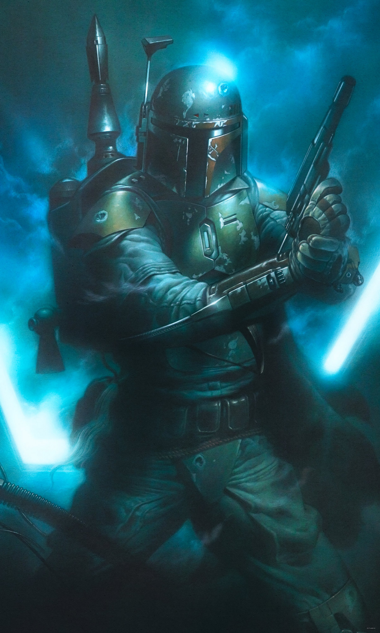 Star Wars Classic Bounty Hunter