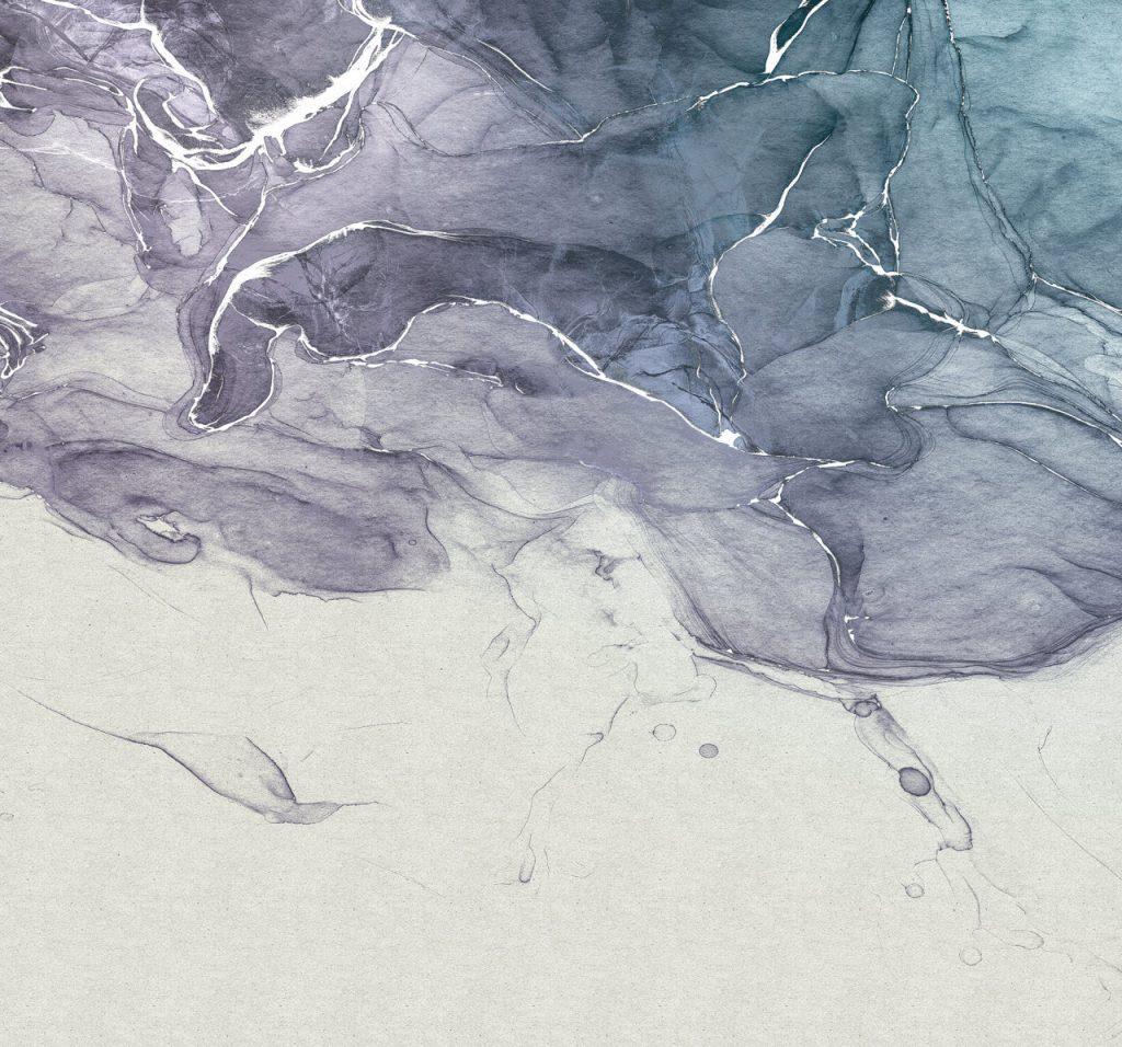 Ink Blue Fluid